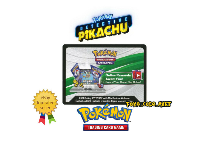 Buy Pokemon Detective Pikachu Online Booster Code Cards
