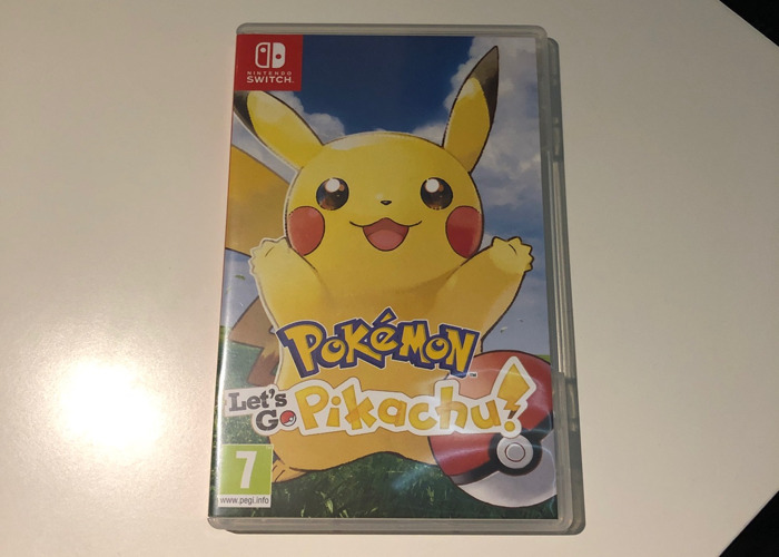 Pokemon Let's Go Pikachu - Switch game - 1