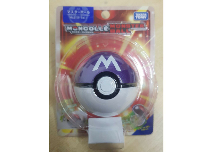 Pokemon Moncolle Pokeball Master Ball Toy by Tomy (Japan Import) - 1