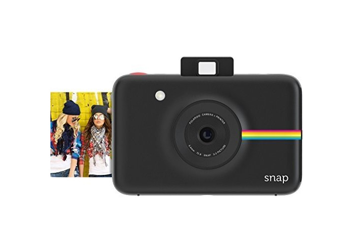 Polaroid Snap Instant Digital Camera (Black) with ZINK Zero Ink Printing Technology - 1