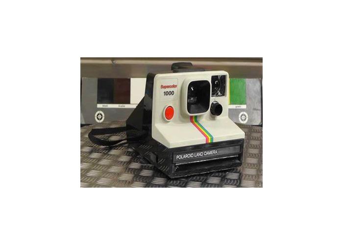 Polaroid supercolor 3500 land camera - 1