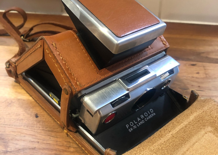 Polaroid sx70 land camera folding original  - 1