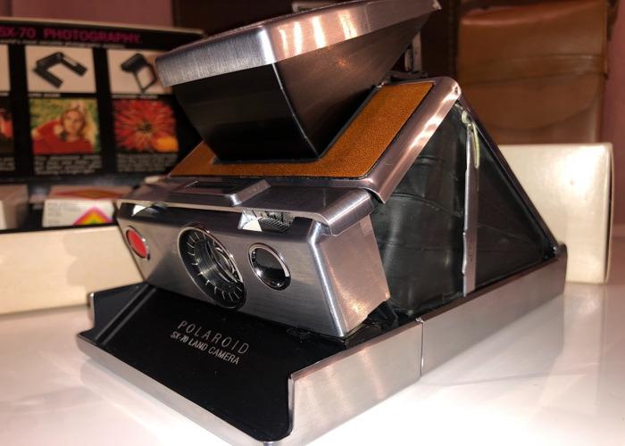 Polaroid SX-70 Land Camera instant camera) - 2