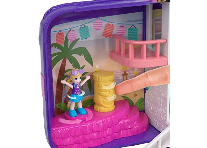 Polly Pocket FRY40 Hidden Places Beach Vibes Backpack, Multi-Colour - 2