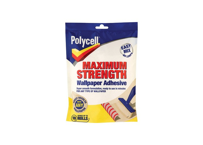 Polycell 5143838 Maximum Strength Wallpaper Adhesive 5 Roll - 1
