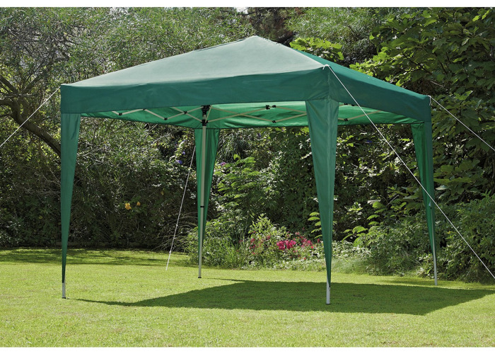 Pop Up Gazebo 2.4m x 2.4m - Green - 1