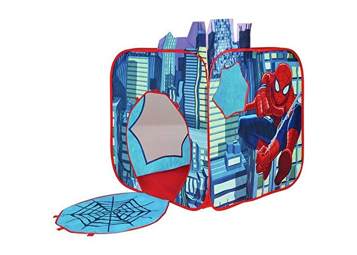 Pop Up Spider-Man Wendy House Play Tent - 1