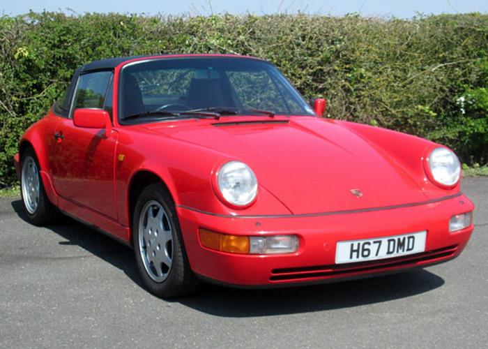 Porsche 911 Carrera 4 Targa (1991) - 1