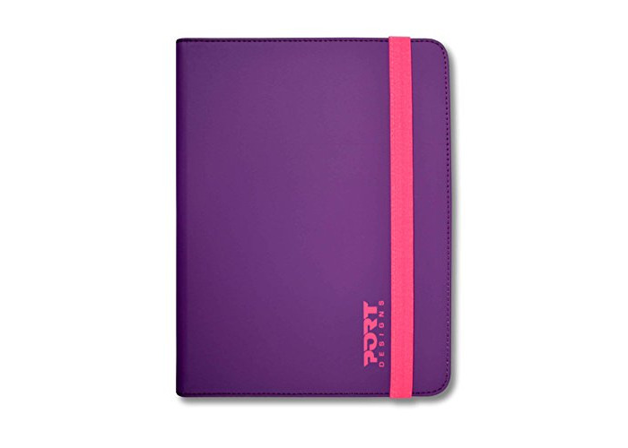 Port Designs Slim Universal Protective 7/8inch Purple/Pink Tablet Case for Samsung Galaxy/iPad/Kindle Tablets - 1