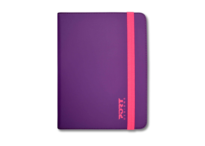 Port Designs Slim Universal Protective 7/8inch Purple/Pink Tablet Case for Samsung Galaxy/iPad/Kindle Tablets - 2