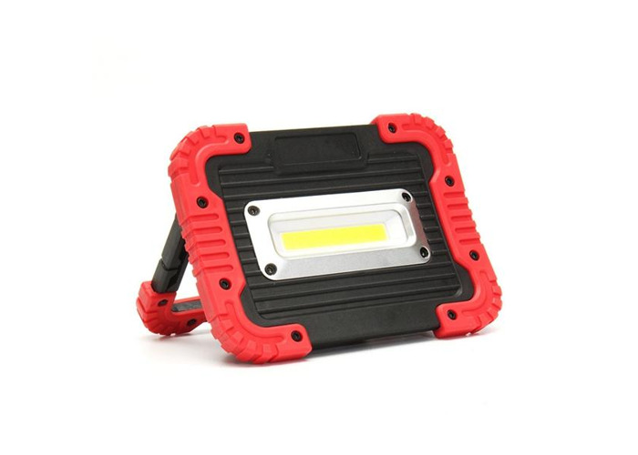 Portable 10W COB LED Work Light USB Rechargeable Outdoor Camping Lamp Handle Flashlight - 2