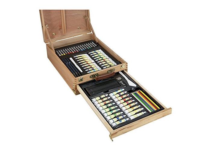 Portable Art Chest - 150 Pieces - 1