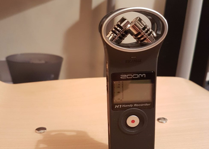 Rent Portable Audio Recorder Zoom H1 In London Rent For 20 00