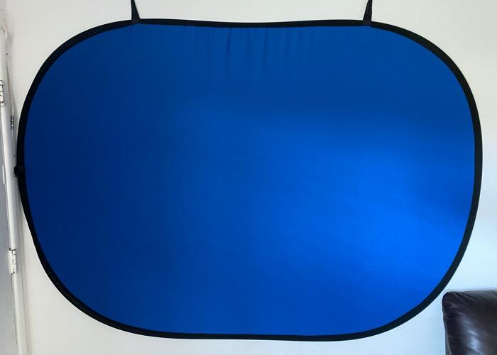 Portable Green/Blue Screen - 1