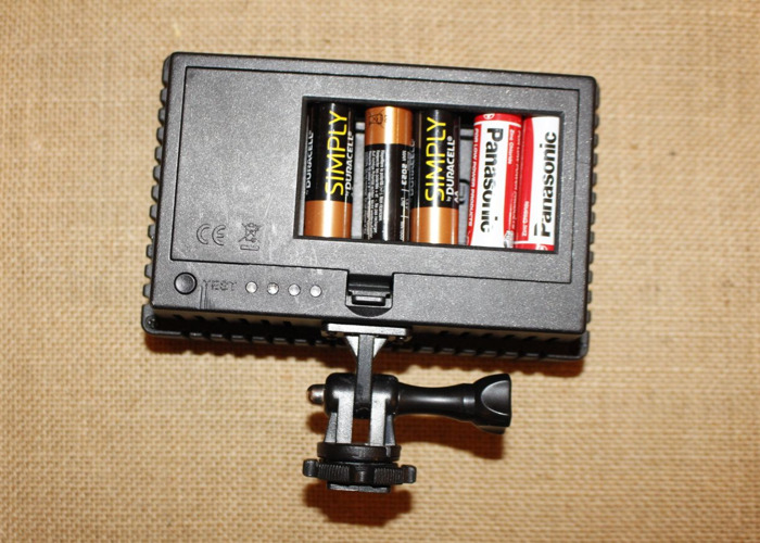 Portable LED for camera mount or stand - 2