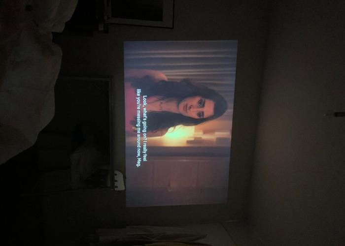Portable Video Projector 1080p - 2