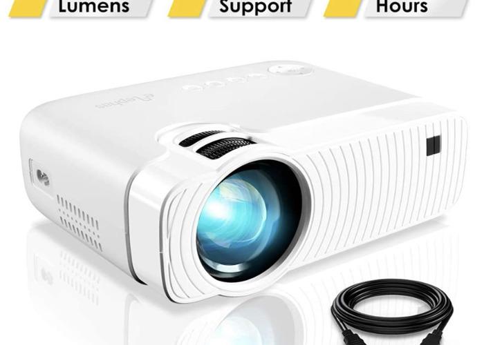 Portable Video Projector 1080p - 1