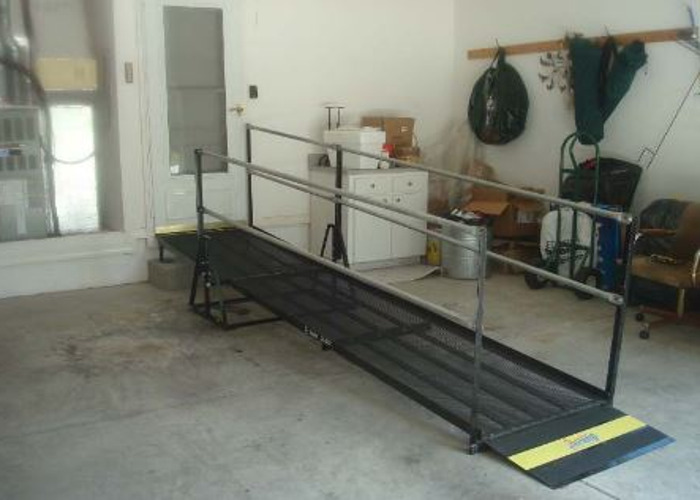 Portable Wheelchair Ramp Rental - 1