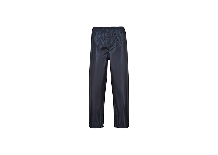 Portwest Rain Trousers  Navy  Small  R - 1
