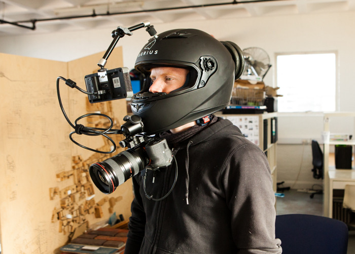 POV Helmet rig FULL SET UP - 1