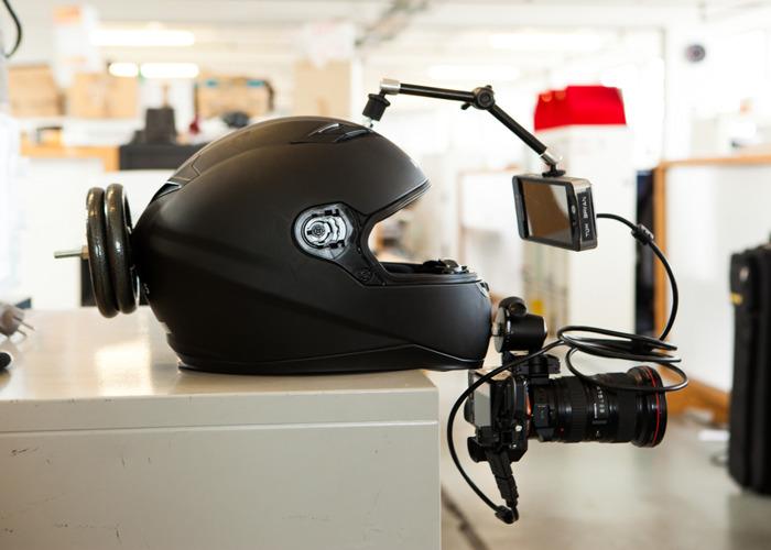 POV Helmet rig FULL SET UP - 2