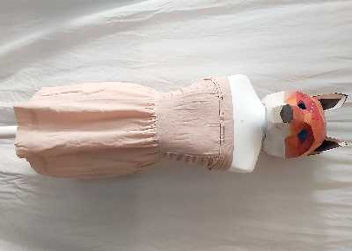 Powder pink cocktail event dress  - 1