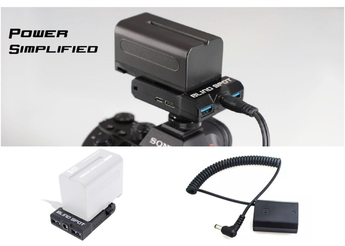 Power Solution for Sony Cameras | Power Junkie | Sony NPF | FW50 Battery | Compatible with A7II A7SII A7RII A6500 - 1