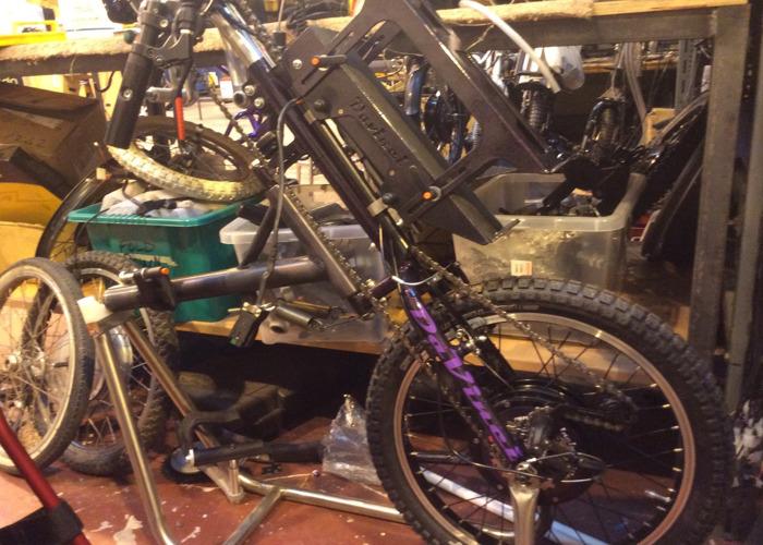 Powered crank Hancycle - 1