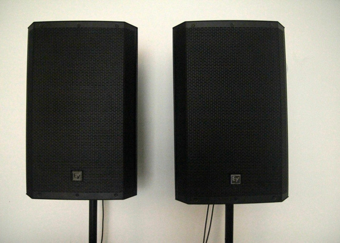"Powered Electro-voice Speakers - ZLX15P - 15"" PA Speakers - 2"