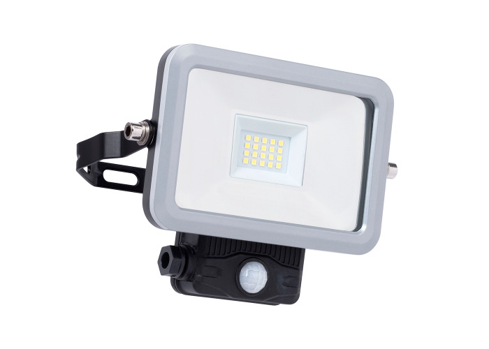 Powerplus 10W LED Weatherproof Floodlight & Sensor WOC110001 - 1