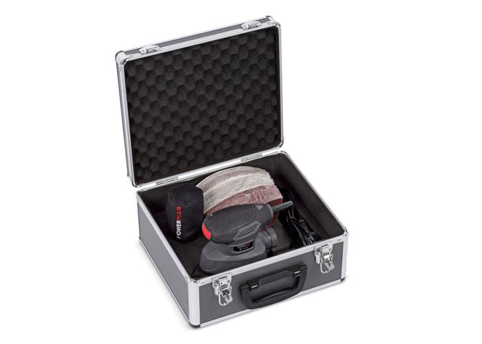Powerplus 140w Palm Sander Set - 1