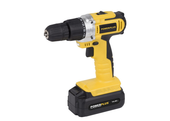 Powerplus 14.4v Drill \ Screwdriver - 1