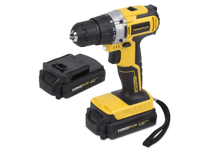 Powerplus 14.4v Li-Ion Cordless Drill Driver - 1