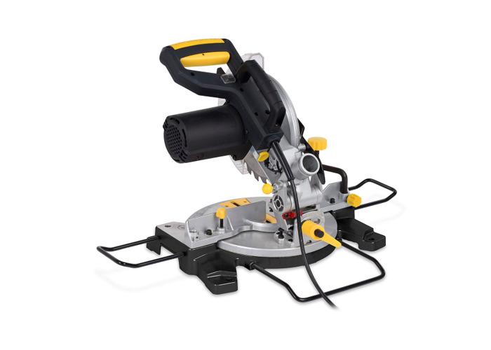 Powerplus 210mm 1500W Compound Mitre Saw POWX07554 - 1