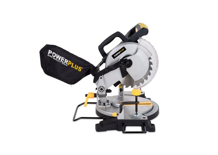 Powerplus 210mm 1500W Compound Mitre Saw POWX07554 - 2