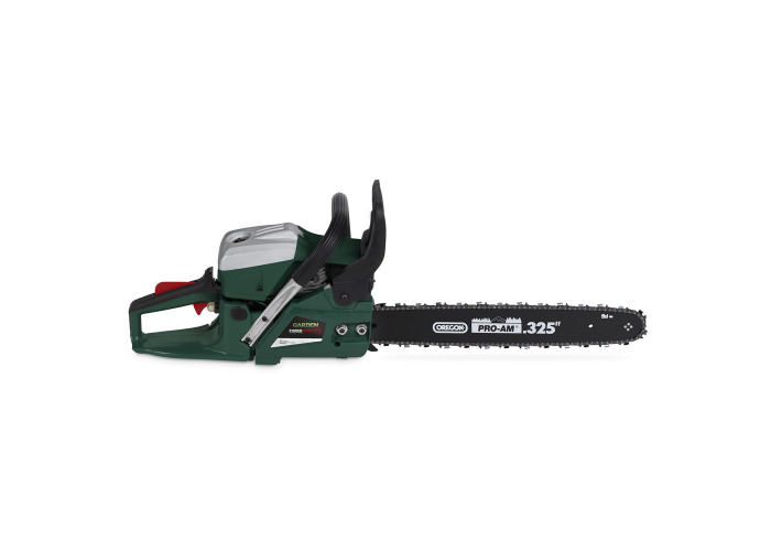 Powerplus 49cc Petrol Chainsaw 450mm Blade - 1