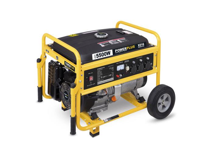 Powerplus 5500w Generator POWX516 - 1