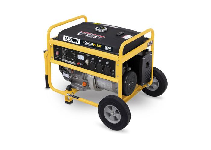 Powerplus 5500w Generator POWX516 - 2