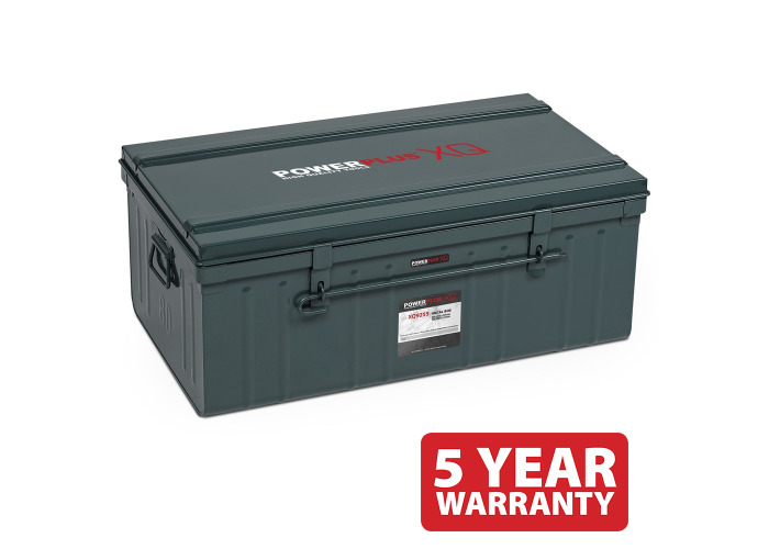 Powerplus 'Ammo Style' Metal Box POWXQ9255 - 1