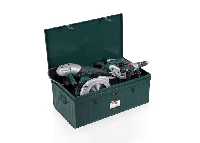Powerplus 'Ammo Style' Metal Box POWXQ9255 - 2