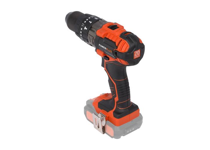 Powerplus Dual Power 20v Combi Drill POWDP1520 - Bare Tool - 1