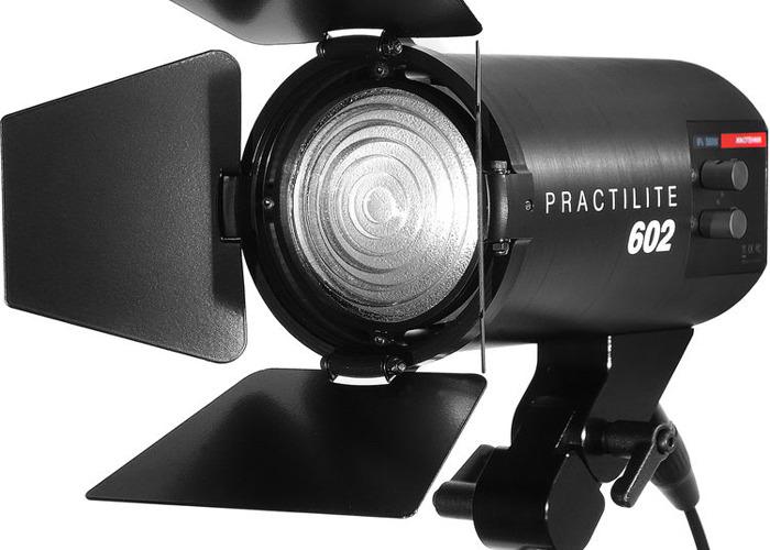Practilite 300w Bi colour Freznel 3 light Kit - 1