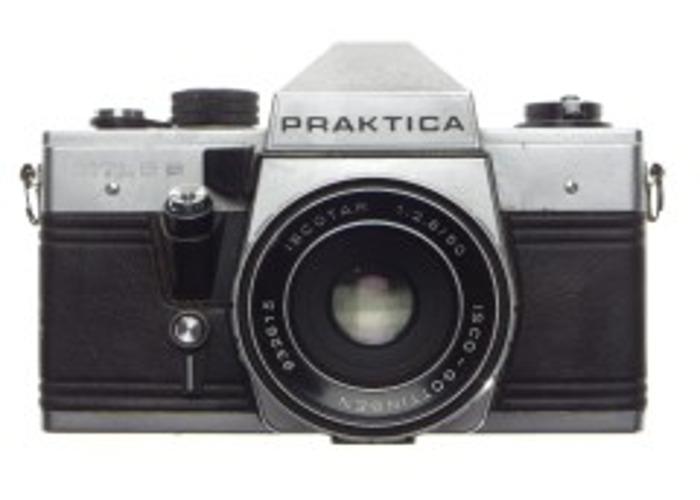 PRAKTICA MTL 5B  50mm 2.8 analog film 35mm camera - 2
