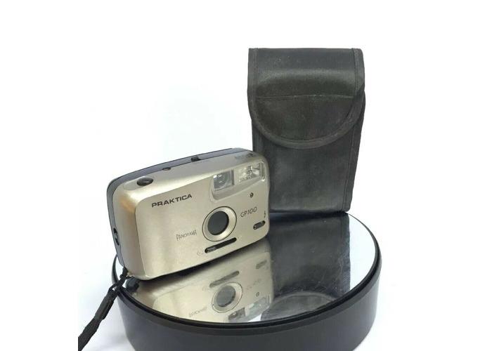 PRAKTICA Panorama Pocket GP100 35mm film point & shoot camera- CASED#343 - 1