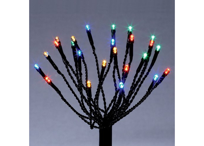Premier Dec - 120 Battery Operated Sparkler Multi Action Multi Led Path Lights with Timer - 1