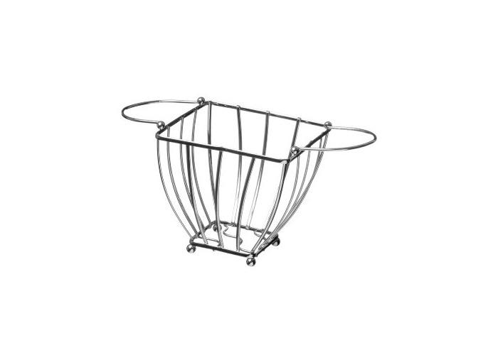 Premier Housewares Fruit Basket, Chrome, 18 cm - 1
