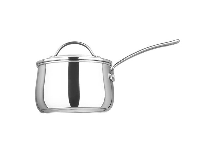 Prestige Bell Stainless Steel 18 cm Saucepan with Glass Lid - Silver - 2