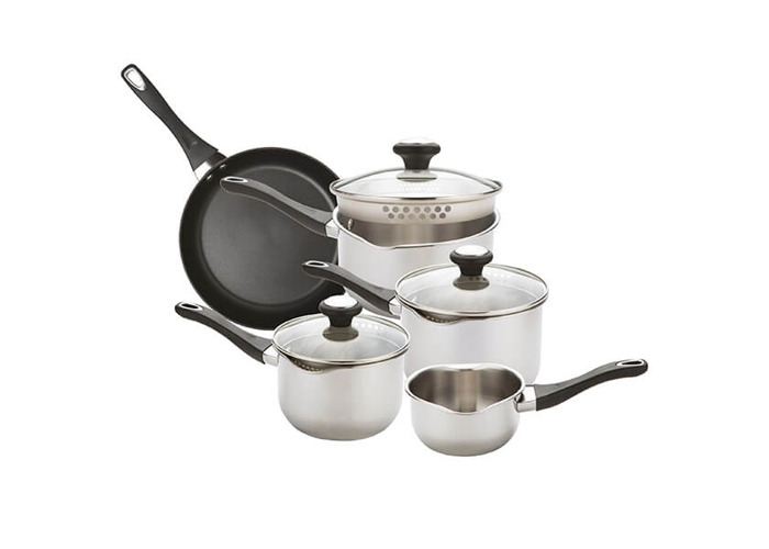 Prestige Everyday Straining 5 Piece Cookware Set - 1