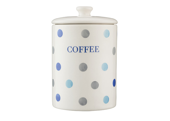 Price & Kensington Padstow Blue Coffee Storage Jar - 1