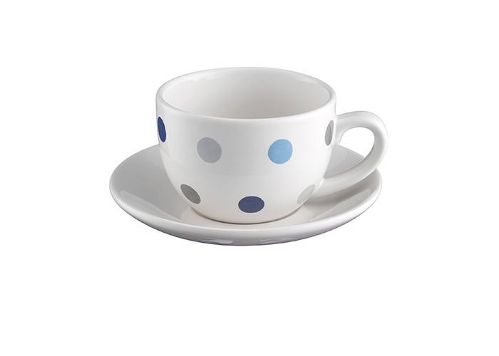 Price & Kensington Padstow Blue Cup & Saucer - 1